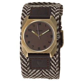 Nixon Women's Yellow Goldtone Steel 'Scout' Watch
