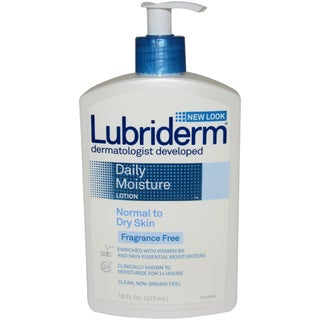Lubriderm Daily Moisture 16-ounce Lotion for Normal to Dry Skin