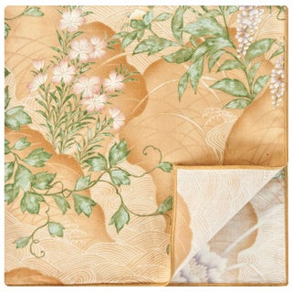 Rose Tree Wisteria Gold Napkins (Set of 6)