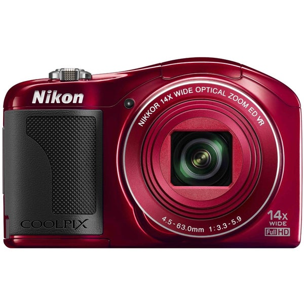 Nikon Coolpix L610 16MP Red Digital Camera