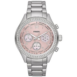 Fossil Women's Stainless Steel 'Flight' Watch