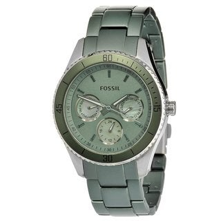 Fossil Women's ES3039 'Stella' Stainless Steel & Aluminum Watch