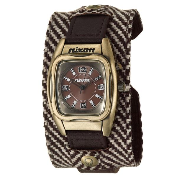 Nixon Men's Antique Yellow Goldtone Steel 'Rocker' Watch