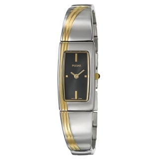 Pulsar Women's Goldplated Steel Dress Watch