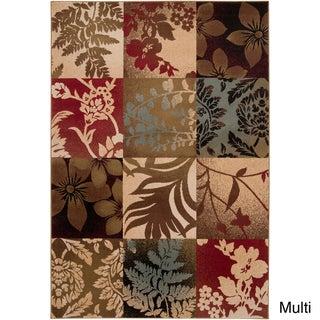 Hand-woven Auburn Rug