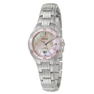Pulsar Women's Stainless Steel Dress Sport Watch