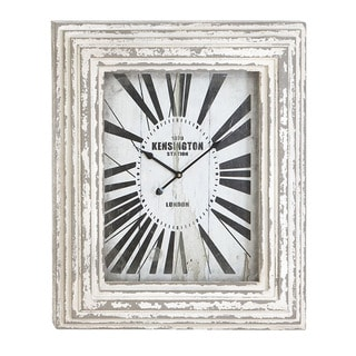Kensington Station Weathered Vintage Classic Wall Clock