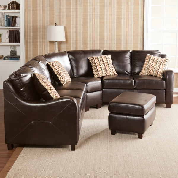 Claymore Chocolate 4-piece Sectional Sofa Set