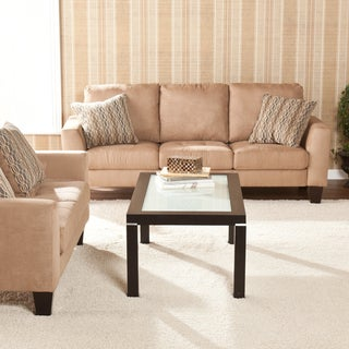 Ascot Mocha Sofa/ Loveseat Set