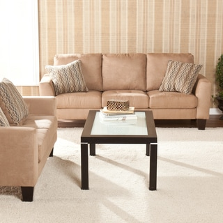 Upton Home Ascot Mocha Sofa/ Loveseat Set