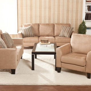 Ascot Mocha Sofa/ Loveseat/ Chair Set