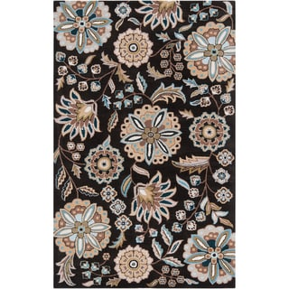 Hand-tufted Ukiah Tan Wool Rug