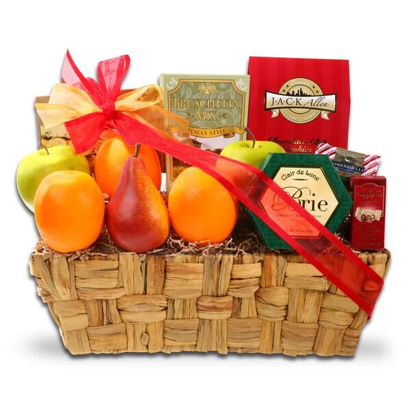 Alder Creek GIft Baskets Holiday Fruits and Favorites