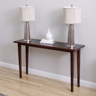 Draper Wood/ Glass Sofa Table