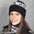 Solegear Dual-purpose Reindeer Pattern Thermo Neck Warmer Hat