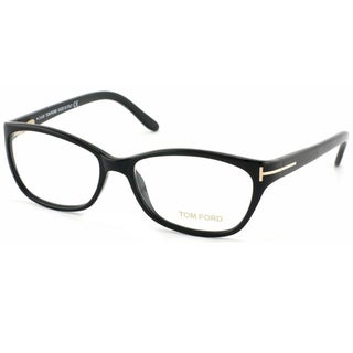 Tom Ford Women's TF5142 001 Black Plastic Optical Eyeglass Frames