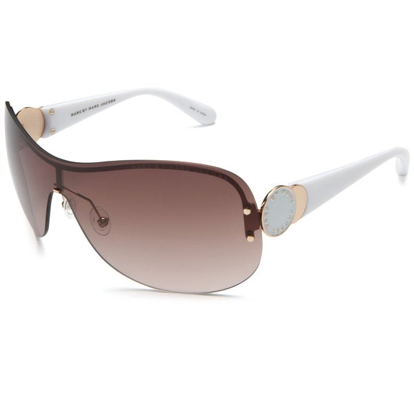 Marc by Marc Jacobs Women's White Shield Sunglasses
