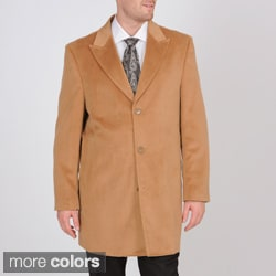Martin Gordon Men's 3-button Car Coat