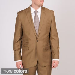 Martin Gordon Men's Slim Fit Single-button Suit