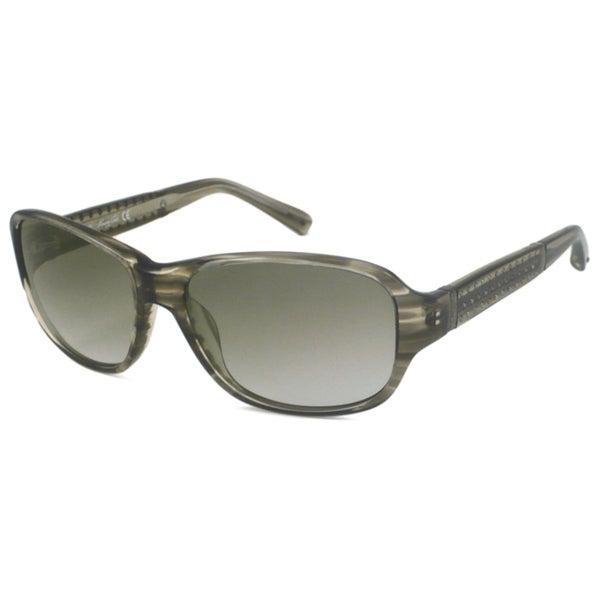 Kenneth Cole KC7014 Women's UV-Resistant Rectangular Sunglasses