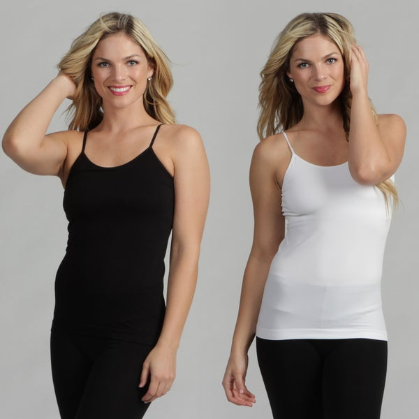 M by Miadora Body Beautiful 2-Pack Shaping Tank Tops