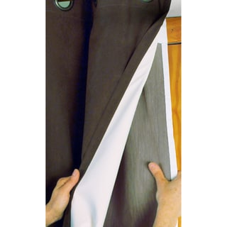 Thermalogic Energy Efficient Curtain Panel Liners (2)