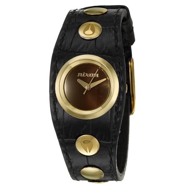Nixon Women's Yellow Gold-plated Steel 'Naughty' Watch