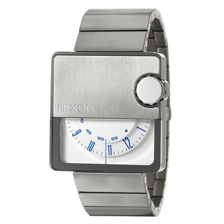 Nixon Men's Silver Stainless-Steel 'Murf' Rotolog Watch