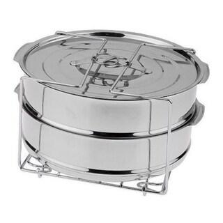 Cook's Essentials Pressure Cooker Stainless Steel Round Dessert Pans