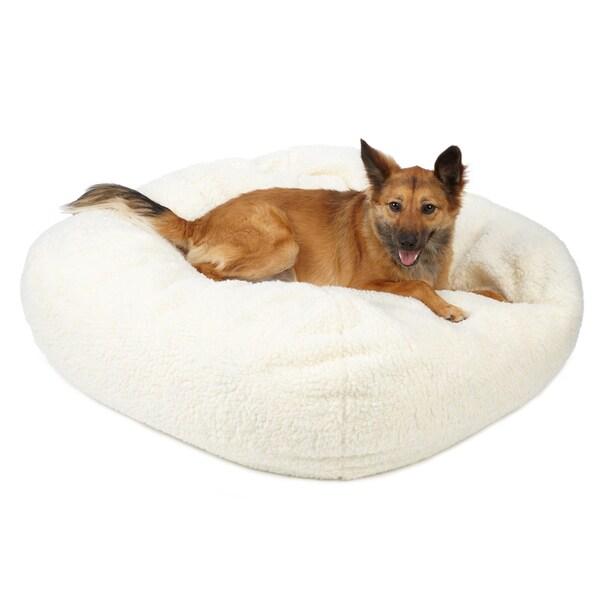 Sweet Dreams Large Sherpa Pet Bed