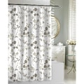 Floral Garden Beige Shower Curtain
