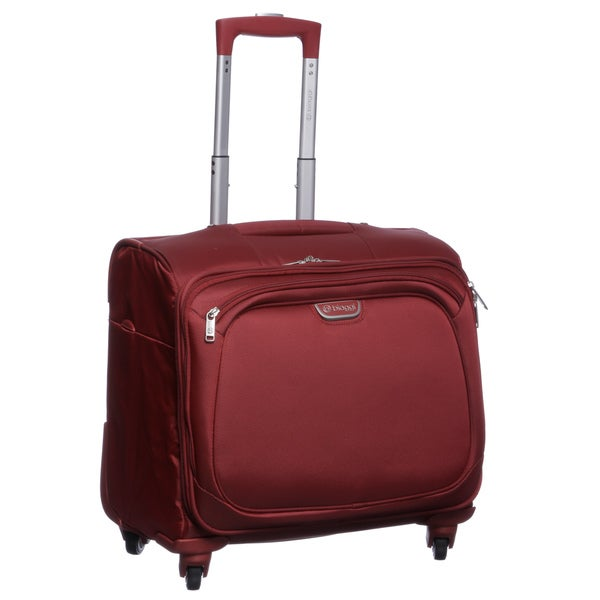 Biaggi Volo Collection Foldable 16-inch Carry On Spinner Weekender Upright Tote