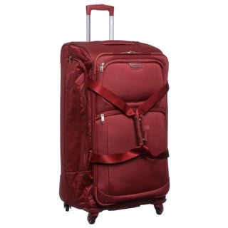 Biaggi Volo Collection Foldable 31-inch Spinner Upright Duffel Bag
