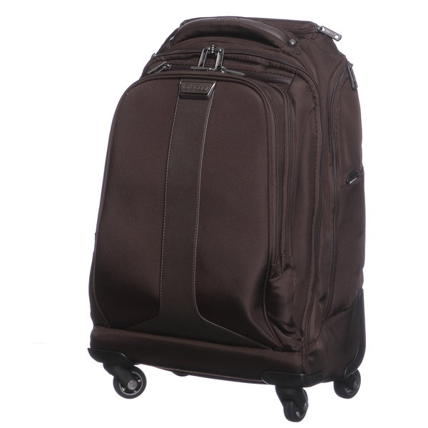 Biaggi Tecno Collection Foldable 21-inch Carry On Spinner Upright Backpack