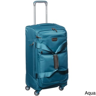 Biaggi Contempo Collection Foldable 26-inch Spinner Upright Duffle Bag