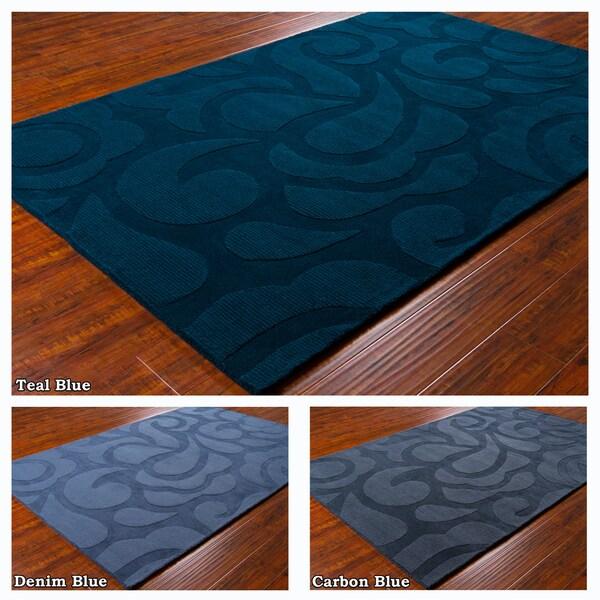 "Mandara Hand-Tufted Imported Wool Rug (5' x 7'6"")"