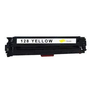 HP 128A Compatible Yellow Toner Cartridge for Hewlett Packard CE322A (Remanufactured)