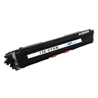 HP 126A Compatible Cyan Toner Cartridge for Hewlett Packard CE311A (Remanufactured)