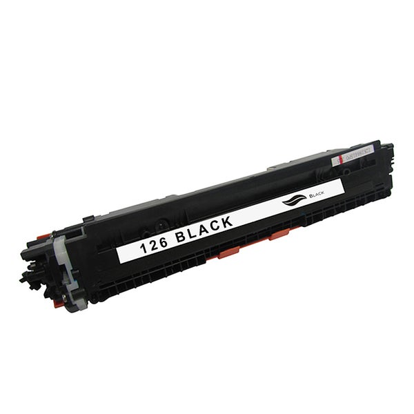 HP 126A Compatible Black Toner Cartridge for Hewlett Packard CE310A (Remanufactured)