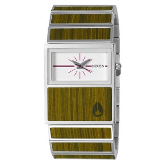 Nixon Women's Stainless Steel and Wood 'Chalet' Watch
