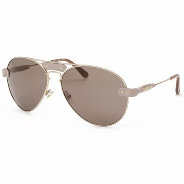 Chloe Unisex 'Tamaris' Aviator Sunglasses Eyewear