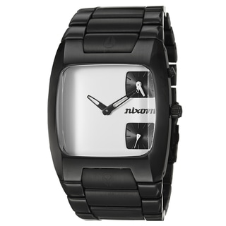 Nixon Men's Black Stainless Steel 'Banks' Watch
