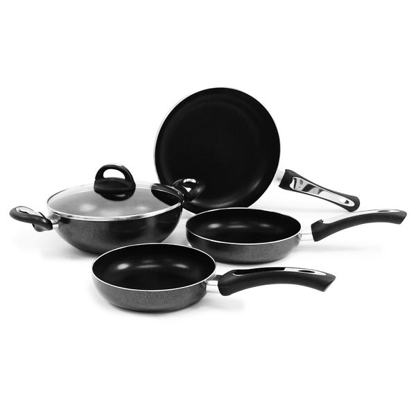 Non-stick 5-piece Aluminum Cookware Set
