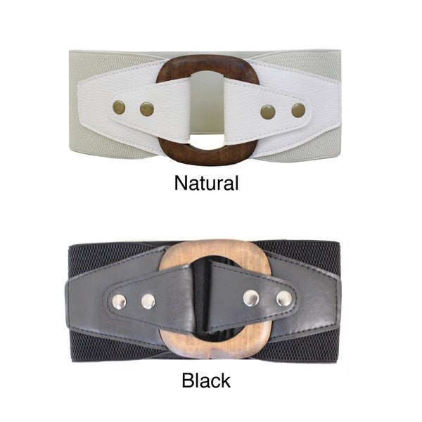 Women's Unstoppable Contoured Elastic High Waist Stretch Belt