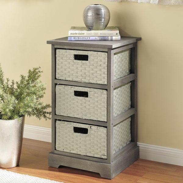 Altra Storage Unit with 3 Baskets