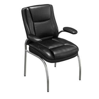 Mayline Ultimo 600 Series Eco-Leather Executive Guest Chair