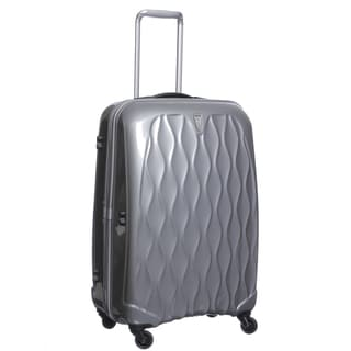 Antler USA 'Liquis' Silver 27-inch Spinner Hardside Upright Suitcase