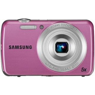 Samsung PL20 Dualview 14MP Pink Digital Camera