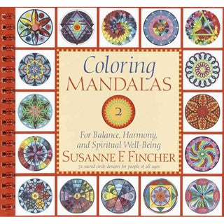 Coloring Mandalas 2: For Balance, Harmony, and Spiritual Well-Being (Paperback)