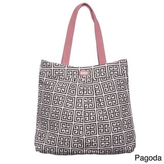 Ame & Lulu PT Pleated Tote